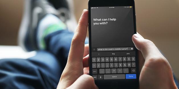 Hướng dẫn tương tác với Siri trên iOS bằng cách... gõ lệnh - ảnh 1