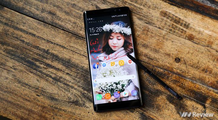 Đánh giá Samsung Galaxy Note 8