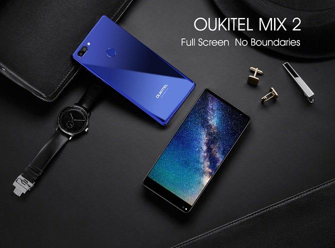 Thông số và cấu hình của Oukitel Mix 2