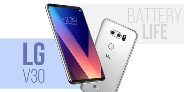 Thời lượng pin LG V30: Một bước tiến lớn