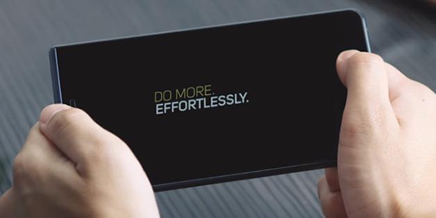 TCL chính thức tung clip quảng cáo BlackBerry Motion