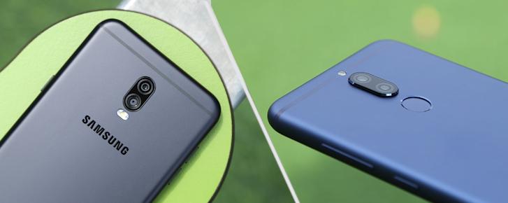 Đọ camera kép xóa phông giấu mặt: Huawei Nova 2i và Galaxy J7+