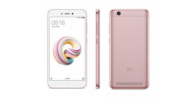 Xiaomi ra mắt Redmi 5A: smartphone rẻ nhất của Xiaomi, giá 2 triệu đồng