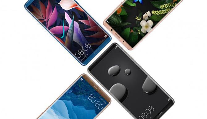 Huawei giới thiệu Mate 10 Pro: màn AMOLED 6 inch tỉ lệ 18:9, có phiên bản Porsche Design