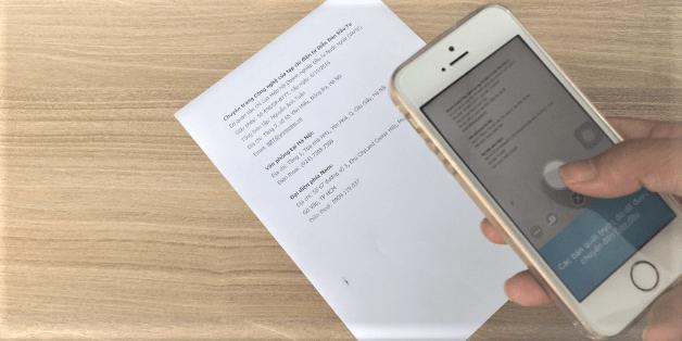 Cách tốt nhất để scan tài liệu bằng điện thoại, tablet