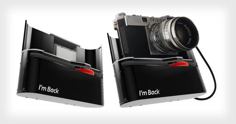 I'm Back: Mặt lưng số dành cho máy ảnh film 35mm cũ