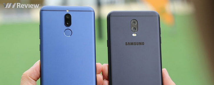 Kết quả đọ camera kép xóa phông giấu mặt: Huawei Nova 2i và Galaxy J7+