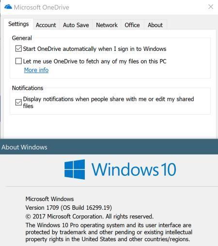 Một số máy tính bị mất Files On-Demand khi nâng cấp lên Windows 10 Fall Creators Update