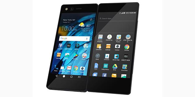 Smartphone 2 màn hình của ZTE có thể gập lại như một cuốn sách