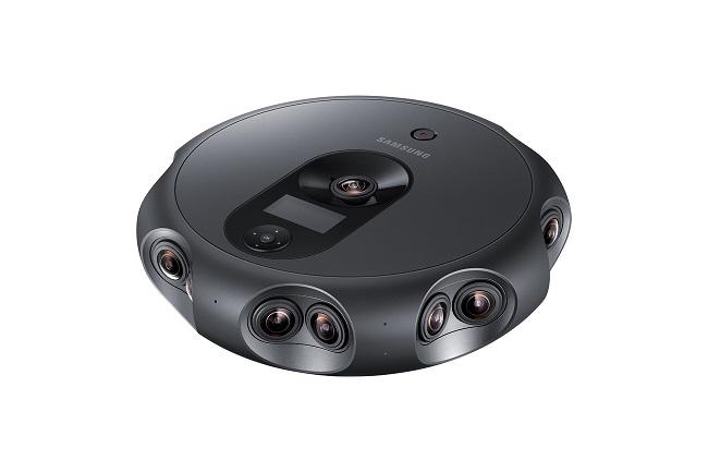 Samsung ra mắt camera 360 Round có tới 17 ống kính