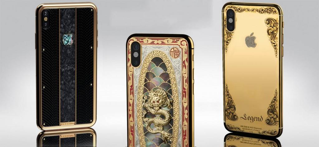 Bộ sưu tập iPhone X đính kim cương có giá thấp nhất gần 3.500 USD