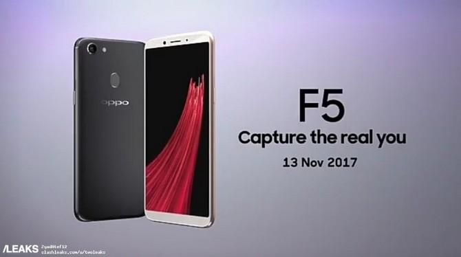 Oppo F5 lộ ảnh chi tiết, video quảng cáo trước thềm ra mắt
