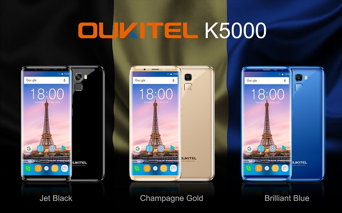 Thông tin thêm về K5000, smartphone có dung lượng pin không khác gì pin dự phòng