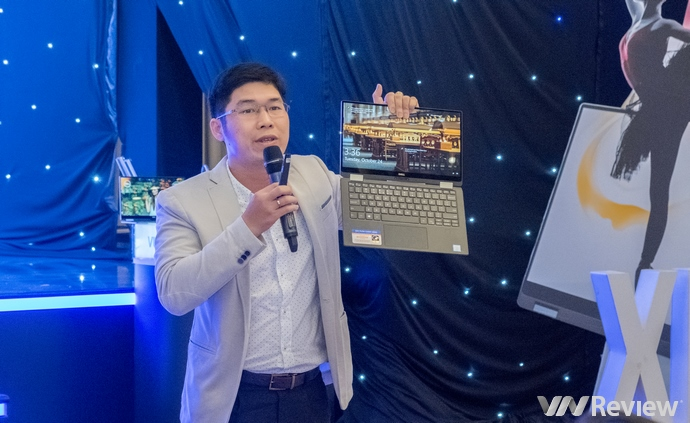 Laptop 2-trong-1 Dell XPS 13 inch mỏng nhất thế giới về Việt Nam với giá 55 triệu đồng