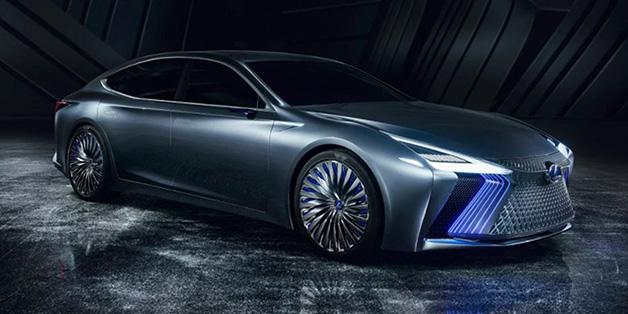 Lexus phát triển dòng xe tự lái siêu sang trang bị trí thông minh nhân tạo