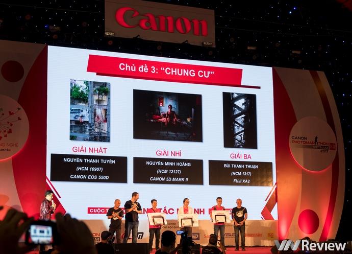 Công bố kết quả Canon PhotoMarathon 2017 tại TP. HCM