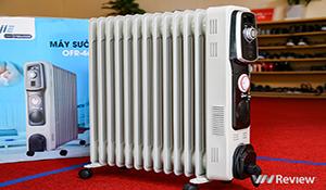 Trải nghiệm máy sưởi dầu FujiE OFR-4613: làm ấm nhanh, có hẹn giờ, giá 2,49 triệu đồng