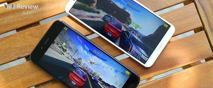 Huawei Nova 2i và Xiaomi Mi A1: đọ hiệu năng, so độ mượt chơi game