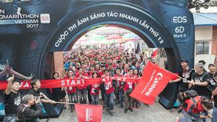 Canon Photomarathon khai màn tại Hà Nội, gần 4000 người tham dự