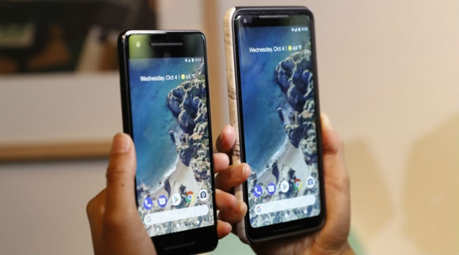 Pixel 2, Pixel 2 XL cập nhật phần mềm khắc phục lỗi cuộc gọi, cải tiến các chế độ hiển thị