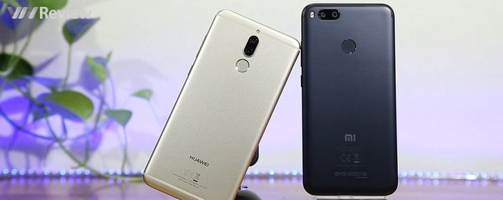 Kết quả đọ camera kép xóa phông giấu mặt: Xiaomi Mi A1 và Huawei Nova 2i