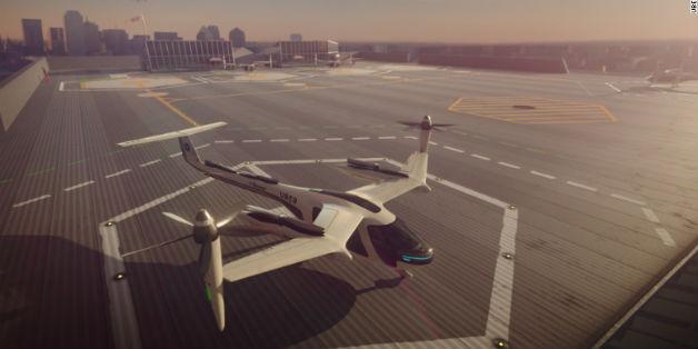 Uber bắt tay NASA thực hiện dự án taxi bay UberAIR, hứa hẹn rẻ hơn UberX