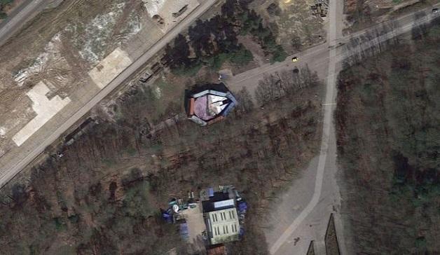 Disney đã giấu rất kỹ con tàu Millennium Falcon nhưng vẫn không qua mặt được Google Maps