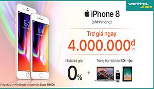 Mở bán với hàng loạt ưu đãi, iPhone 8 đắt khách
