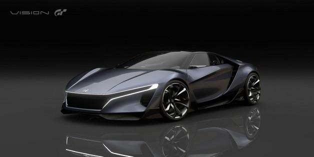 Ngắm thiết kế viễn tưởng trên chiếc Honda Sports Vision Gran Turismo