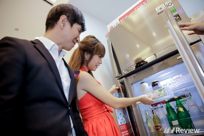 LG ra mắt dòng tủ lạnh Inverter Linear, sắp bán cả máy lọc không khí, robot hút bụi, tủ giặt sấy đồ tại Việt Nam
