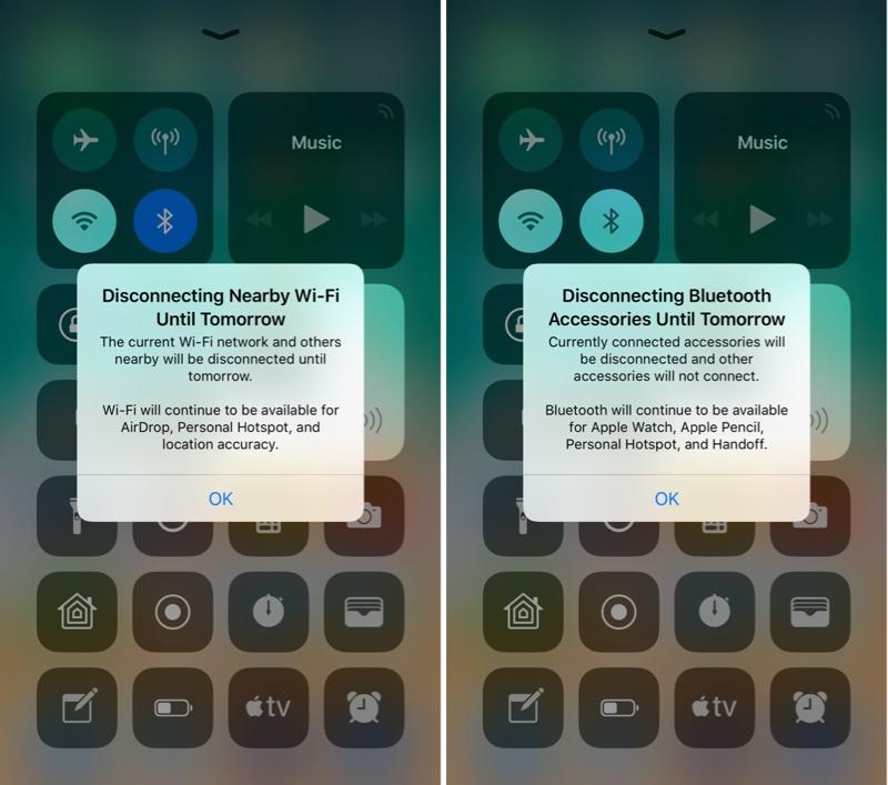 iOS beta mới sẽ hiện thông báo cụ thể cho người dùng khi điều chỉnh WiFi hay Bluetooth - ảnh 2