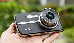Đánh giá camera hành trình Webvision S5: có camera lùi, màn hình lớn