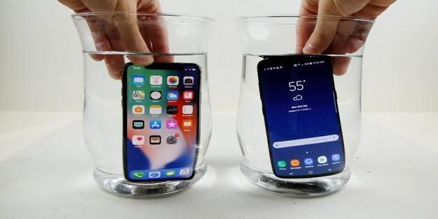 Ngâm iPhone X và Galaxy S8 trong nước đá: Ai sẽ thắng?