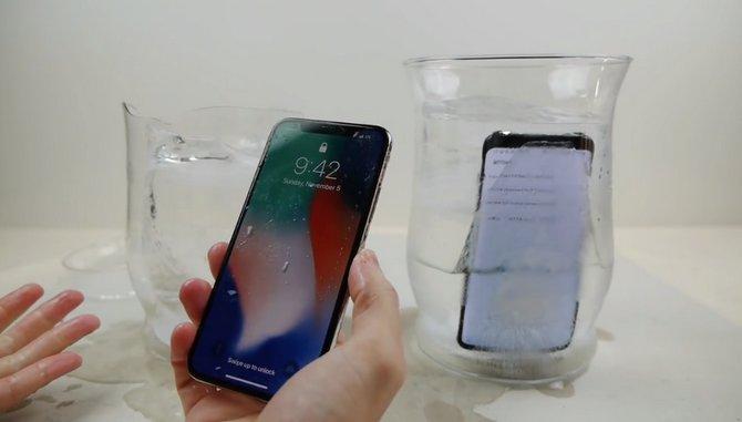 Ngâm iPhone X và Galaxy S8 trong nước đá: Ai sẽ thắng? - ảnh 3