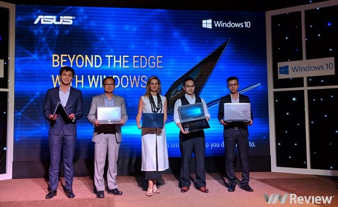 Từ tháng 11 này, tất cả laptop ASUS về Việt Nam đều được cài sẵn Windows 10 bản quyền