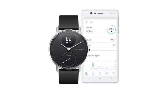 Nokia cho phép đặt hàng trước smartwatch Steel HR, lên kệ từ tháng 12