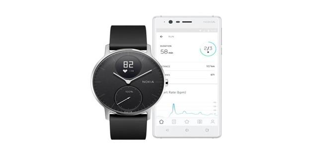 Nokia cho đặt trước smartwatch Steel HR, lên kệ từ tháng 12