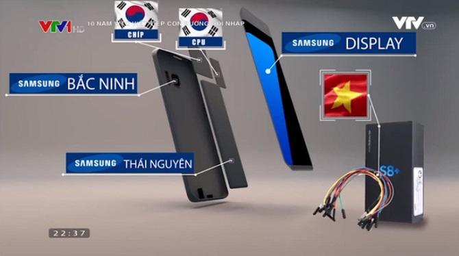 Chiếc điện thoại Samsung 'Made in Vietnam': DN Việt chỉ làm nổi vỏ hộp và dây nối... ảnh 3