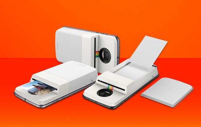 Motorola giới thiệu máy in ảnh Polaroid Insta-Share Printer, giá 200 USD