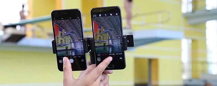 Đọ camera AI của Bphone 2017 với iPhone 6 Plus và Galaxy A7 2017