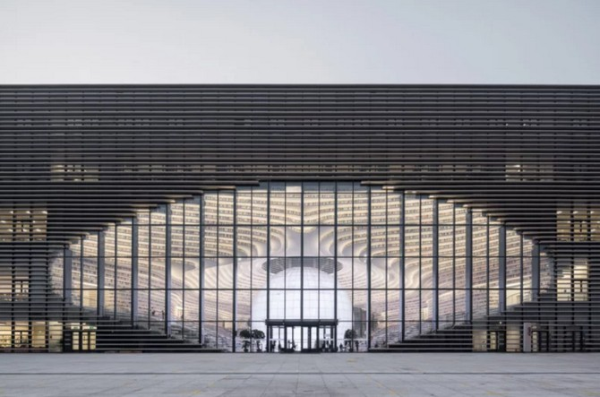 Bên trong thư viện sách khổng lồ tại Trung Quốc, diện tích tương đương 5 sân bóng đá ảnh 2