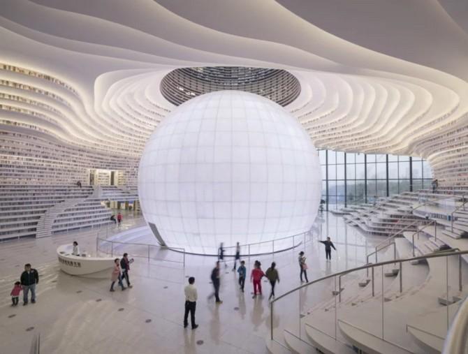 Bên trong thư viện sách khổng lồ tại Trung Quốc, diện tích tương đương 5 sân bóng đá ảnh 4
