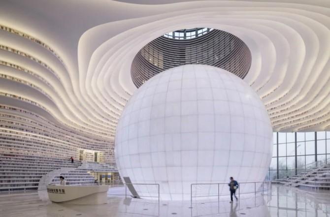 Bên trong thư viện sách khổng lồ tại Trung Quốc, diện tích tương đương 5 sân bóng đá ảnh 1