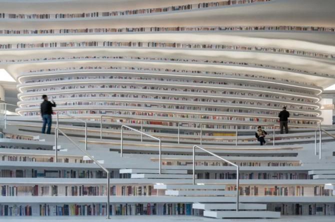Bên trong thư viện sách khổng lồ tại Trung Quốc, diện tích tương đương 5 sân bóng đá ảnh 5