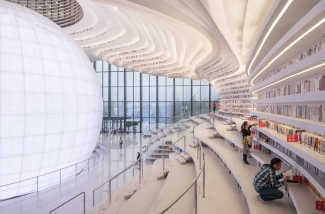 Bên trong thư viện sách khổng lồ tại Trung Quốc, diện tích tương đương 5 sân bóng đá ảnh 6