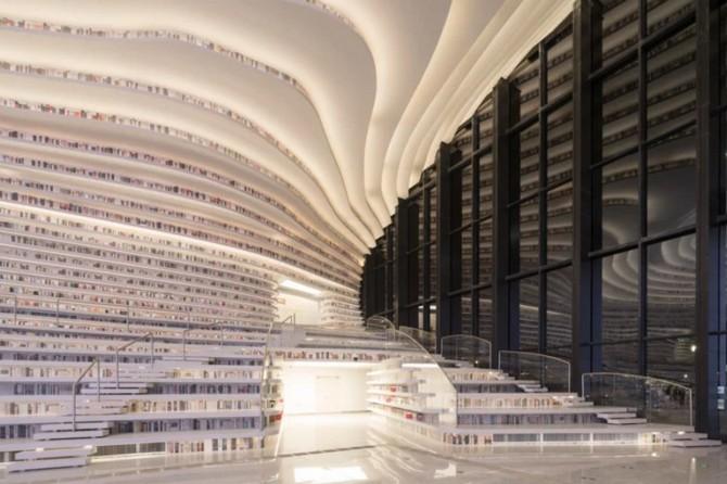 Bên trong thư viện sách khổng lồ tại Trung Quốc, diện tích tương đương 5 sân bóng đá ảnh 7