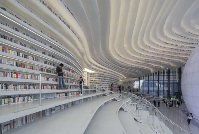 Bên trong thư viện sách khổng lồ tại Trung Quốc, diện tích tương đương 5 sân bóng đá ảnh 9