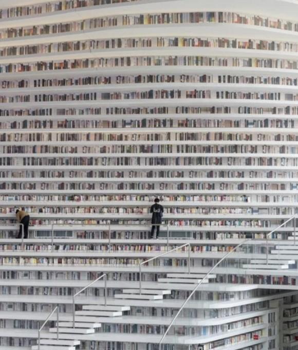 Bên trong thư viện sách khổng lồ tại Trung Quốc, diện tích tương đương 5 sân bóng đá ảnh 11