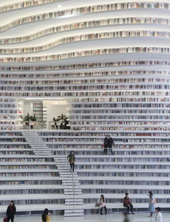 Bên trong thư viện sách khổng lồ tại Trung Quốc, diện tích tương đương 5 sân bóng đá ảnh 12