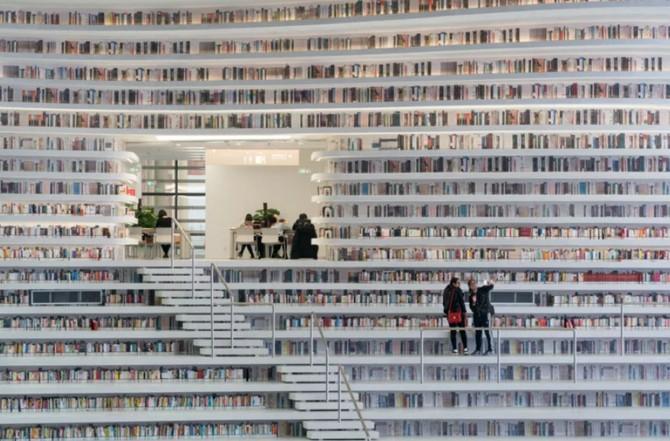Bên trong thư viện sách khổng lồ tại Trung Quốc, diện tích tương đương 5 sân bóng đá ảnh 10